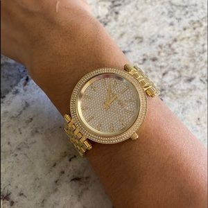 Michael Kors Parker Pave crystals watch